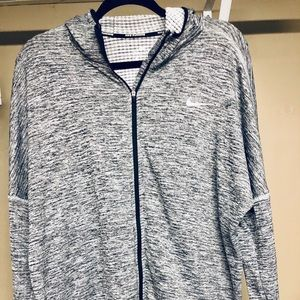 Nike running - women's XL - gray fitted jacket.